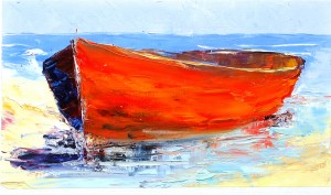 Barque 21x32